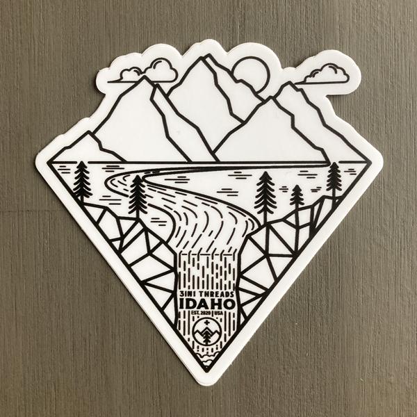 3IN1 Threads Outdoor Custom Sticker Design