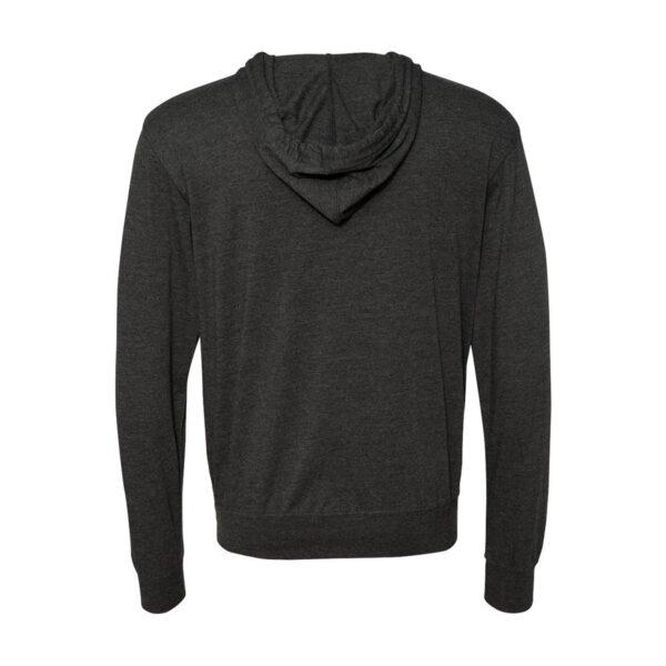 3IN1 Threads Lightweight full-zip hooded sweatshirt - back