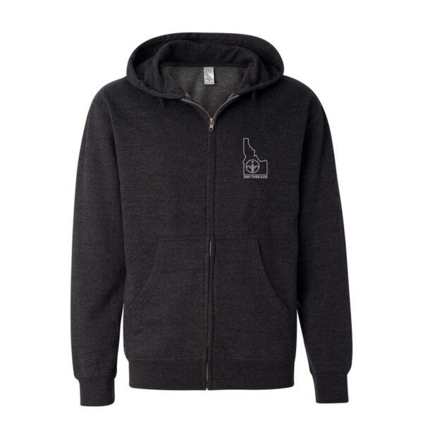 3IN1 Threads Mid-weight full-zip hooded sweatshirt