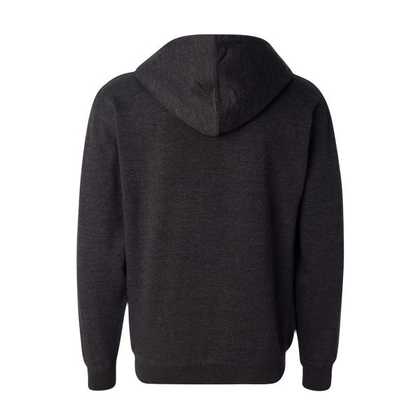 3IN1 Threads Mid-weight full-zip hooded sweatshirt - showing back