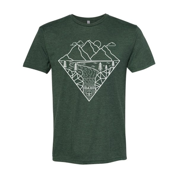 3IN1 Threads Outdoor custom t shirt - Dark Forest