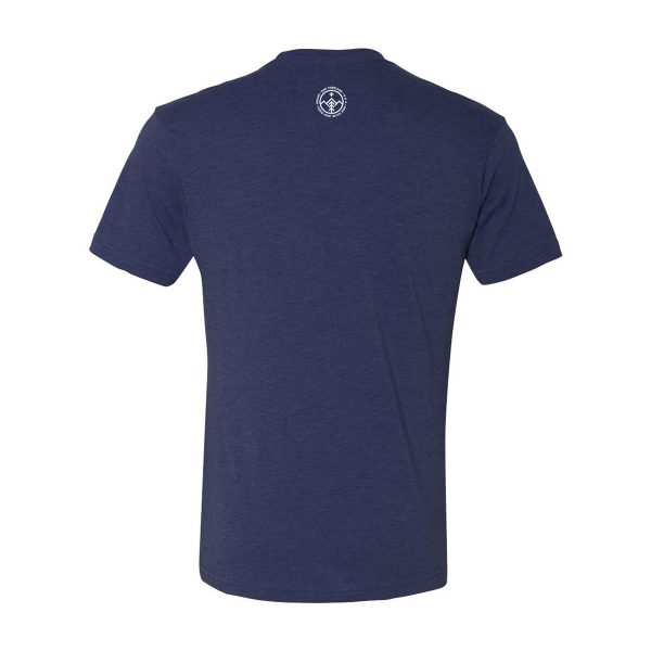 Custom T shirt triblend by 3IN1 Threads shirt back